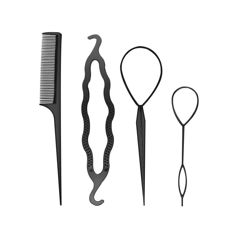 [해외]매직 헤어 스타일링 액세서리 세트 Braiders 헤어핀 롤빵 제조기 머리 Braiding 트위스트 경기자 스타일링 도구/Magic Hair Styling Accessories Set Braiders Hair Pin Bun Roller Maker Hair Bra