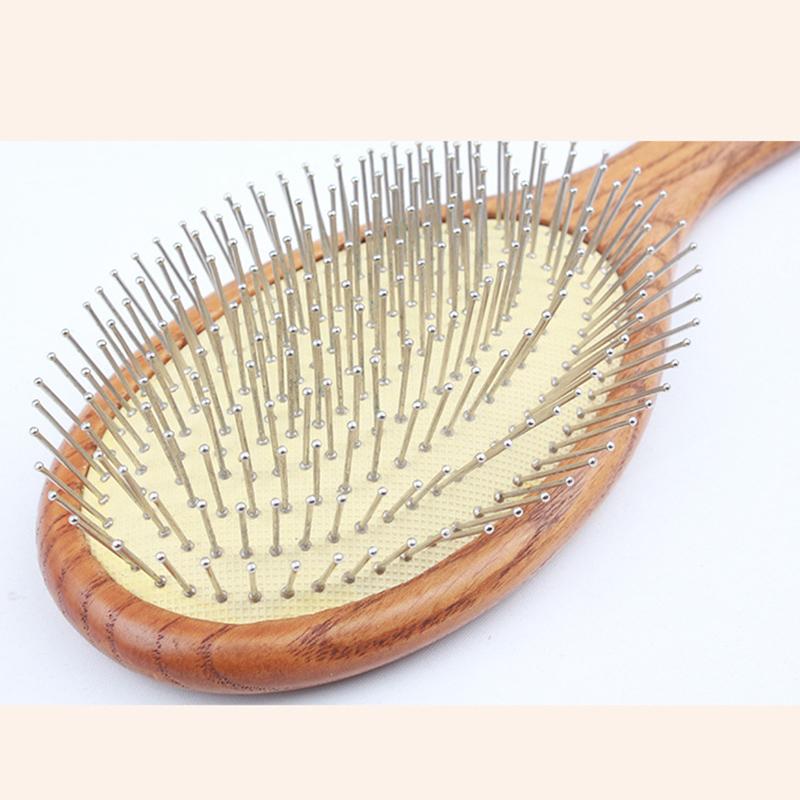 [해외]자연적인 나무로되는 안마 에어백 빗 머리 관리 머리 BrushComb 정전기 방지 머리/Natural Wooden Massage Airbag Comb Hair Care Hair BrushComb Antistatic Head