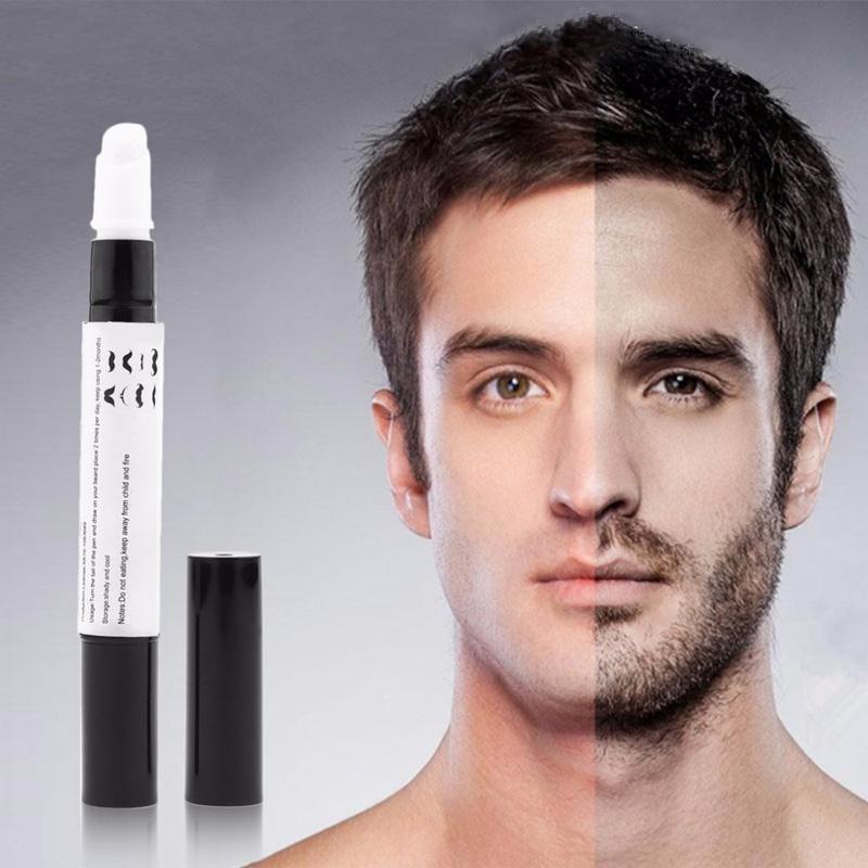 [해외] 1Pc 턱수염 성장 펜 100 % 자연 빨리 얼굴 수염을 향상 영양 콧수염/Dropshipping  1Pc Beard Growth Pen 100% Natural Fast Enhance Facial Whiskers Nutrition Moustache