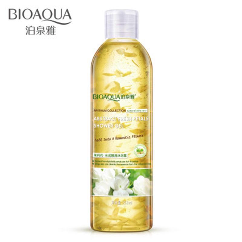 [해외]비 오카 250ml 재스민 꽃잎 향기로운 샤워 젤 딥 딥 화이트닝 모이스쳐 라이징 엑스 폴리 에이 팅 바디 로션 바디 스킨 케어/BIOAQUA 250ml Jasmine Petals Fragrant Shower Gel Deep Cleaning Whitening M