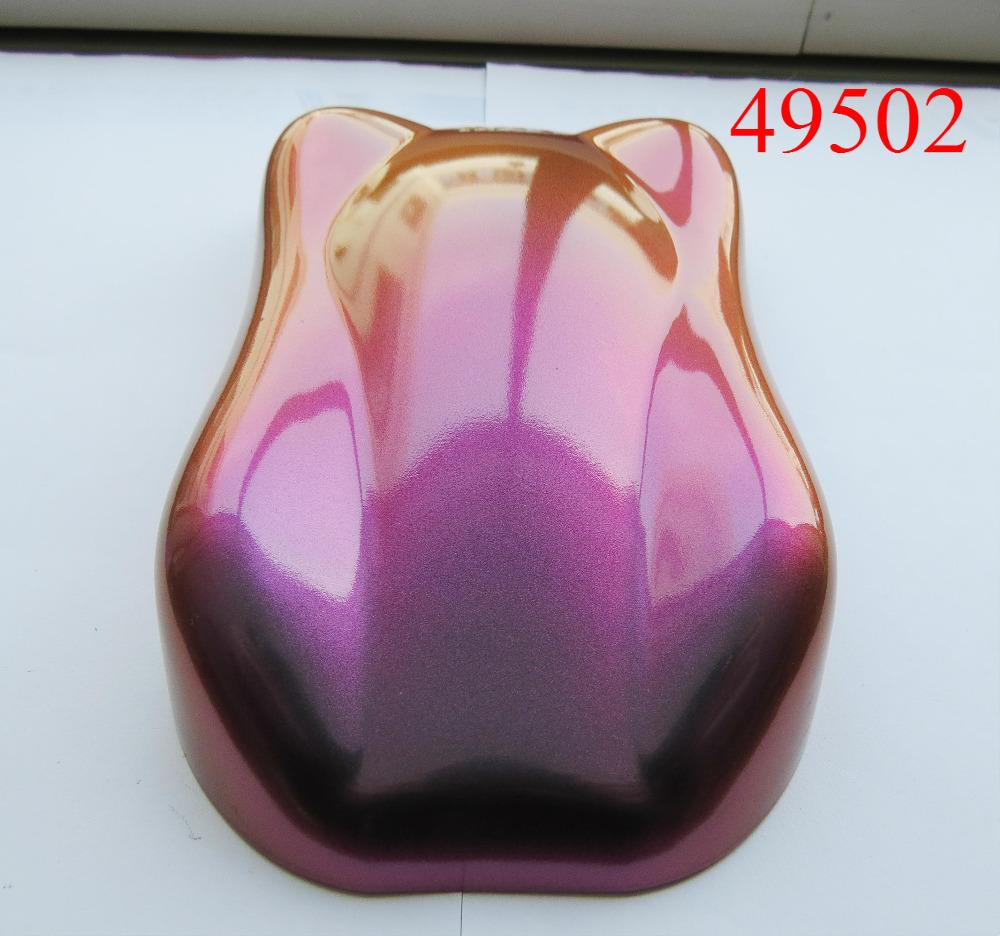 [해외]슈퍼 카멜레온 색소, 색 변화 효과 색소, 시프트 운모 파우더, 1lot = 200gram 49502 갈색 / 적색 / 보라색,/sell super chameleon pigment, color change effect pigment, shift mica powd