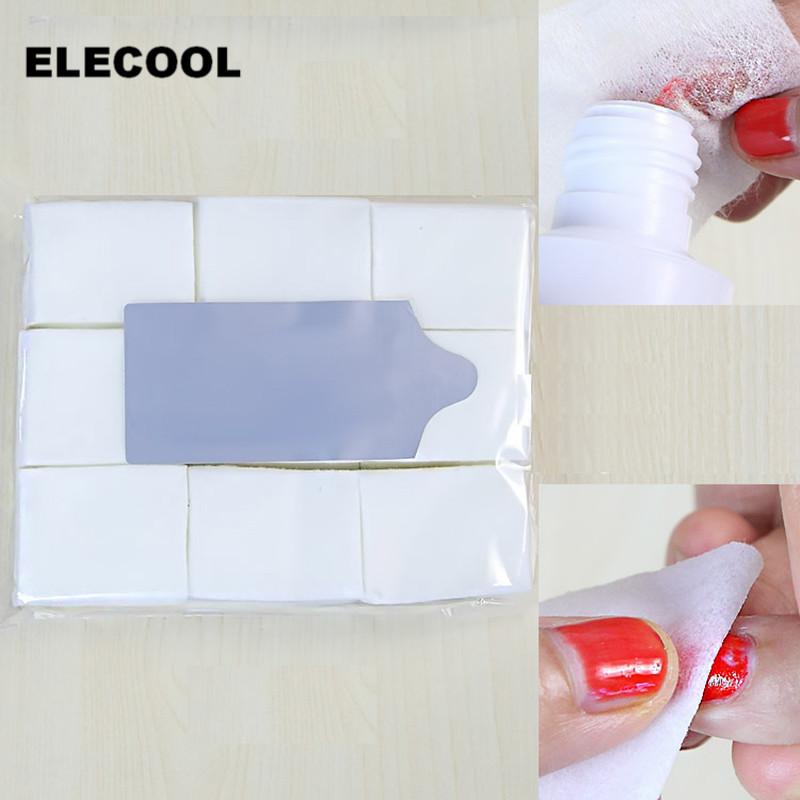 [해외]ELECOOL 900pcs 매니큐어 리무버 잎사귀 네일 아트 팁 수건 수건 매니큐어 깨끗한 닦음면 보풀이없는 패드 종이 네일 도구/ELECOOL 900pcs Nail Polish Remover Wipes Nail Art Tips Wrapes Towel Manic
