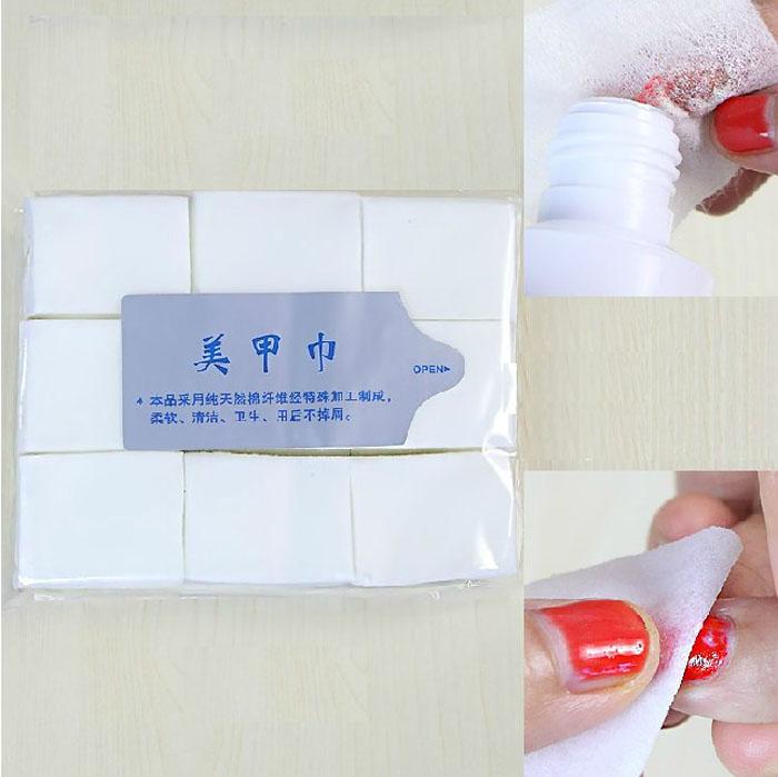 [해외]1000pcs 못 제거제는 닦음을 감는다 네일 아트는 매니큐어 폴란드 리무버 청결한면 닦음 보푸라기 패드 2M0112를 닦는다/1000pcs nail remover wraps wipes Nail Art Tips Manicure Polish Remover Clea