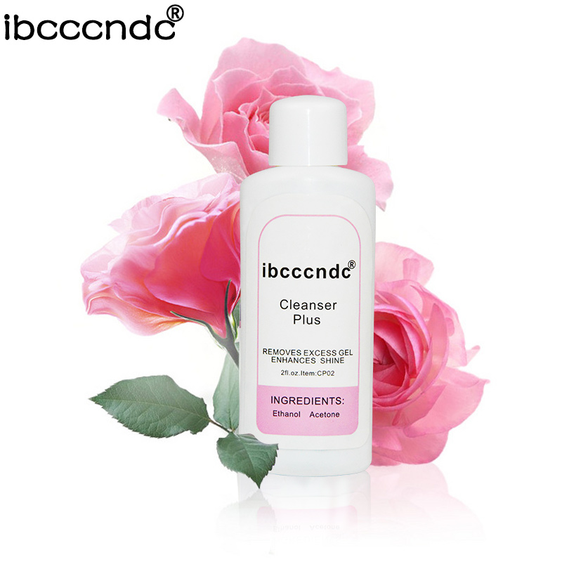 [해외]2018 새로운 IBCCCNDC 네일 클렌저 플러스 액체 표면 점착성 리무버 리무버 UV 젤 네일 아트 60ml 아크릴 플러스 클린 키트/2018 New IBCCCNDC Nail Cleanser Plus Liquid Surface Sticky Residue Re