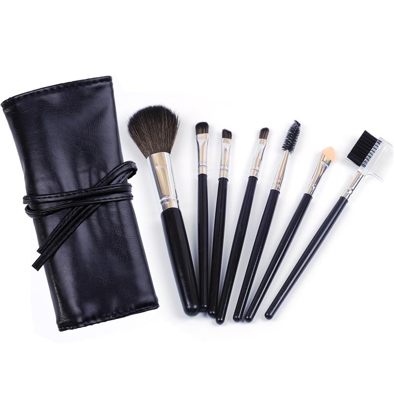 [해외]MECOLOR 7 PCS 메이크업 브러쉬 세트 아이섀도 아이 라이너 눈썹 브러시 얼굴 홍당무 파우더 화장품 기초 미용 도구 키트/MECOLOR 7 PCS Makeup Brushes set kits for eyeshadow eyeliner eyebrow brush