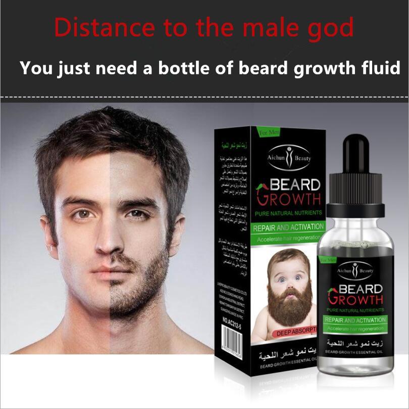 [해외]비어드 성장 액트 마일드 케어 모발 성장 비어드 성장 에센셜 오일 30ml/Beard Growth Fluid Mild Care Hair Growth Beard Growth  Essential Oil 30ml