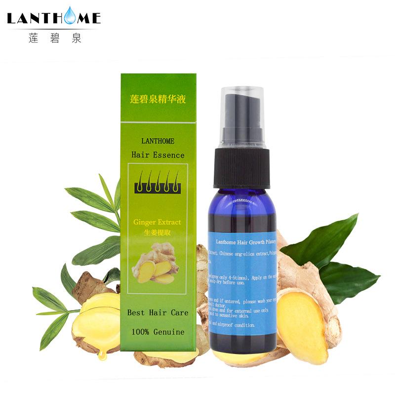 [해외]란 토홈 헤어 리 그 로우 니스 에센스 생강 추출액 리퀴드 케어 성장 제품 헤어 영양 액/Lanthome Hair Regrowth Essence Ginger Extract Liquid Care Growth Products Hair Nourishing Liquid