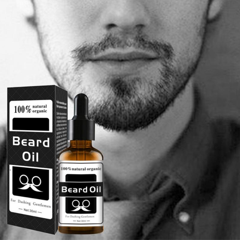 [해외]천연 자몽 종자 얼굴 영양 콧수염 남자 수염 성장 증강 인자 성장 비어드 쉐이핑 도구 수염 케어 제품 신규/Natural Grapefruit seed oil Facial Nutrition Moustache Men Beard Growth Enhancer Grow