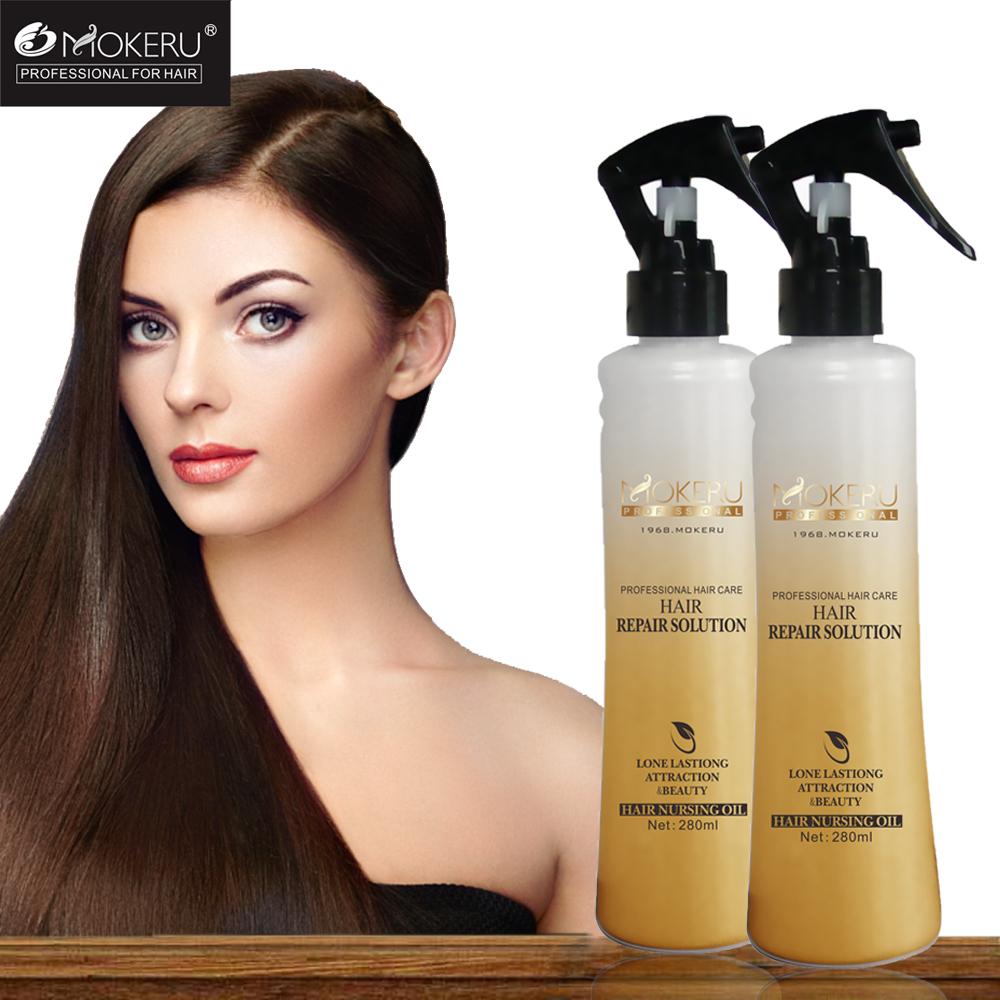 [해외]모 케루 프로페셔널 280ml 모이스쳐 라이징 히알루 론산 헤어 리페어 세럼/Mokeru Professional 280ml Moisturizing Hyaluronic Acid Hair Repair Serum For Damaged Hair