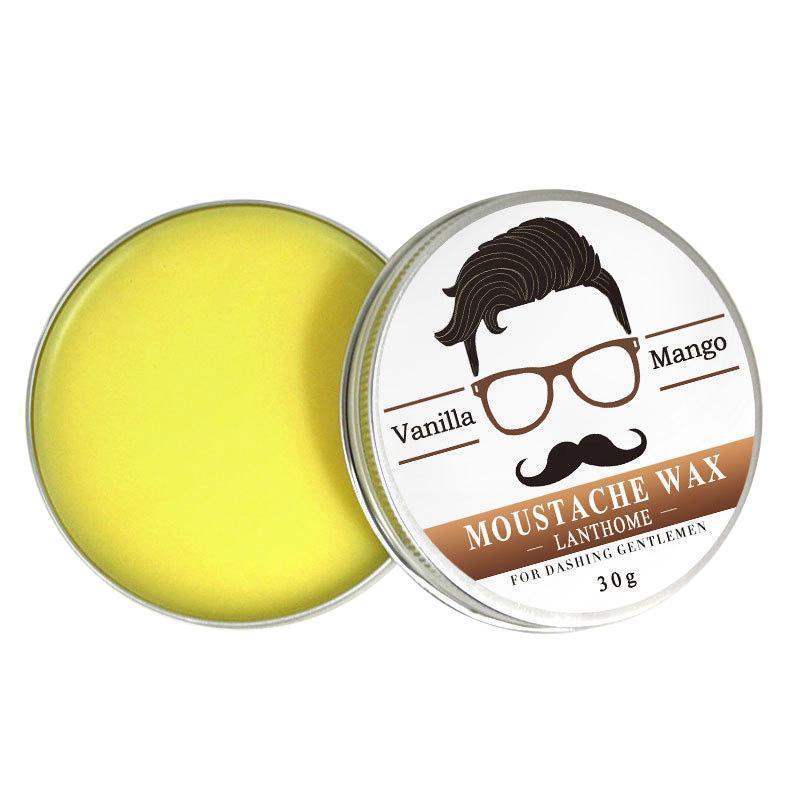 [해외]100 % 천연 비어드 오일 콧수염 왁스 밤 밀랍 스타일링 보습 수유 스무딩 신사 숙 녀 케어 도구/100% Natural Beard Oil Moustache Wax Balm For Styling Beeswax Moisturizing Smoothing Gentl