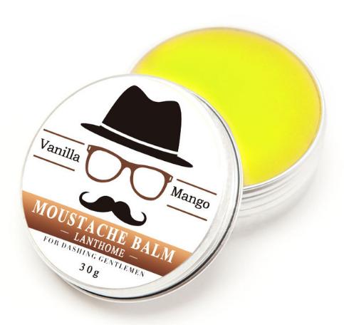 [해외]스타일링을새로운 100 % 천연 비어드 오일과 밤 콧수염 왁스 남성 콧수염 크림 비어드 오일/New 100% Natural Beard Oil and Balm Moustache Wax for styling Men Moustache Cream Beard Oil