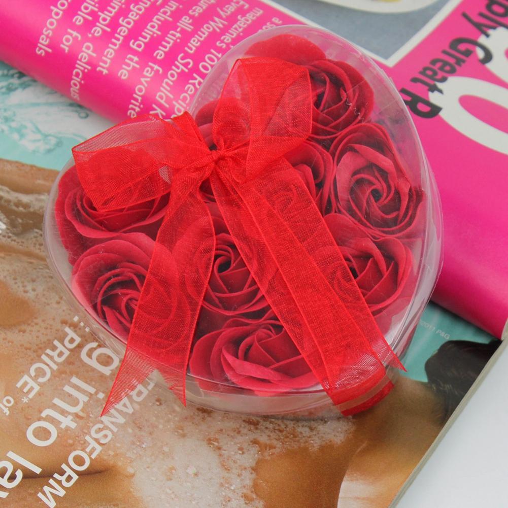 [해외]심장 향기 바디 꽃잎 9pcs 목욕 바디 꽃 하트 로즈 꽃잎 목욕 호의 향기로운 2Colors 결혼 선물/Heart Scented Body Petal 9pcs Bath Body Flower Heart Rose Petal bath Favor Scented 2Col