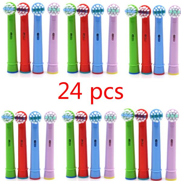 [해외]24pcs 칫솔 헤드 교체 어린이 키즈 브러시 헤드가 구강 프로 건강 B 스테이지에 적합합니다. 도리 전동 칫솔/24pcs Tooth Brush Heads Replacement Children kids Brush Heads fit for Oral Pro-Heal