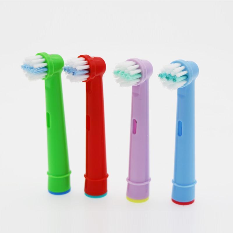 [해외]구강 -B 전동 칫 솔 맞는 사전 전원 / 프로 건강 / 승리 / 3D 엑셀에 대 한 16pcs 교체 아이 어린이 칫 솔 머리/16pcs Replacement Kids Children Tooth Brush Heads For Oral-B Electric Tooth