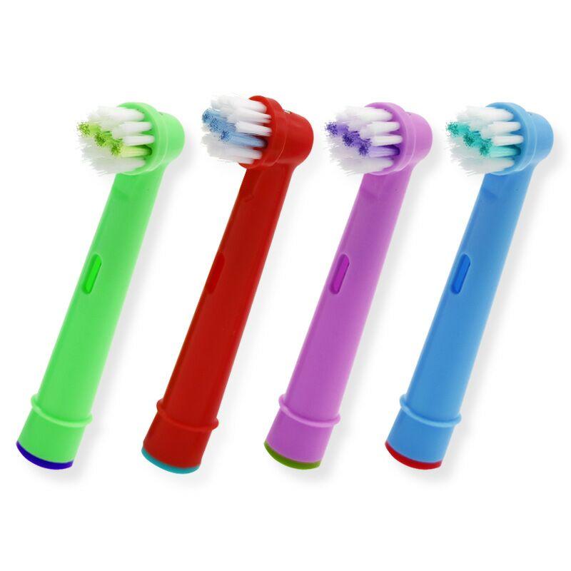 [해외]구강 B EB-10A 프로 건강 스테이 즈 전기 칫솔 구강 관리, 3D 엑셀에 대 한 20pcs 대체 아이 어린이 칫 솔 머리/20pcs Replacement Kids Children Tooth Brush Heads For Oral B EB-10A Pro-Hea