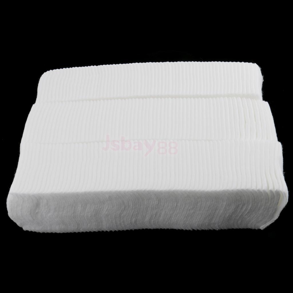 [해외]500 개 White Soft Face Cleansing Eyes 립 클리너 코튼 패드 네일 폴리시 리무버 Tattoo Pigment Wipe/500 Pieces White Soft Face Cleansing Eyes Lip Cleaner Cotton Pads