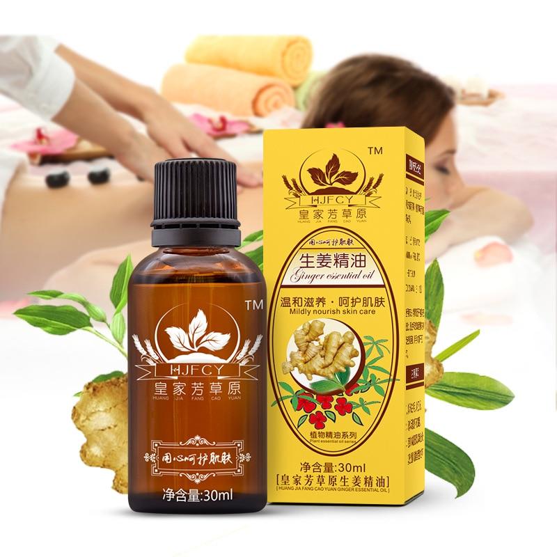 [해외]12PCS 30ml 천연 식물 치료 림프 배수 생강 올리브 재스민 안티 에이징 에센셜 오일 바디 마사지 샤워 오일/12PCS 30ml Natural Plant Therapy Lymphatic Drainage Ginger Olive Jasmine Anti Agin