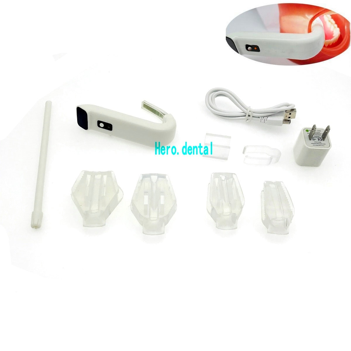 [해외]치과 Intraoral 라이트 플러스 무선 흡입 치과 의사 LED 조명 시스템 Autocla/Dental Intraoral Light Plus Wireless Suction Dentist LED Lighting System Autocla