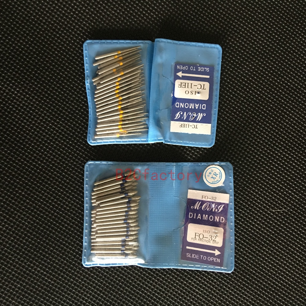 [해외]치아 연마 2.35mm 50PCS / BAG에 대 한 치과 다이아몬드 FG 고속 Burs/Dental Diamond FG High Speed Burs for teeth polishing 2.35mm 50PCS/BAG