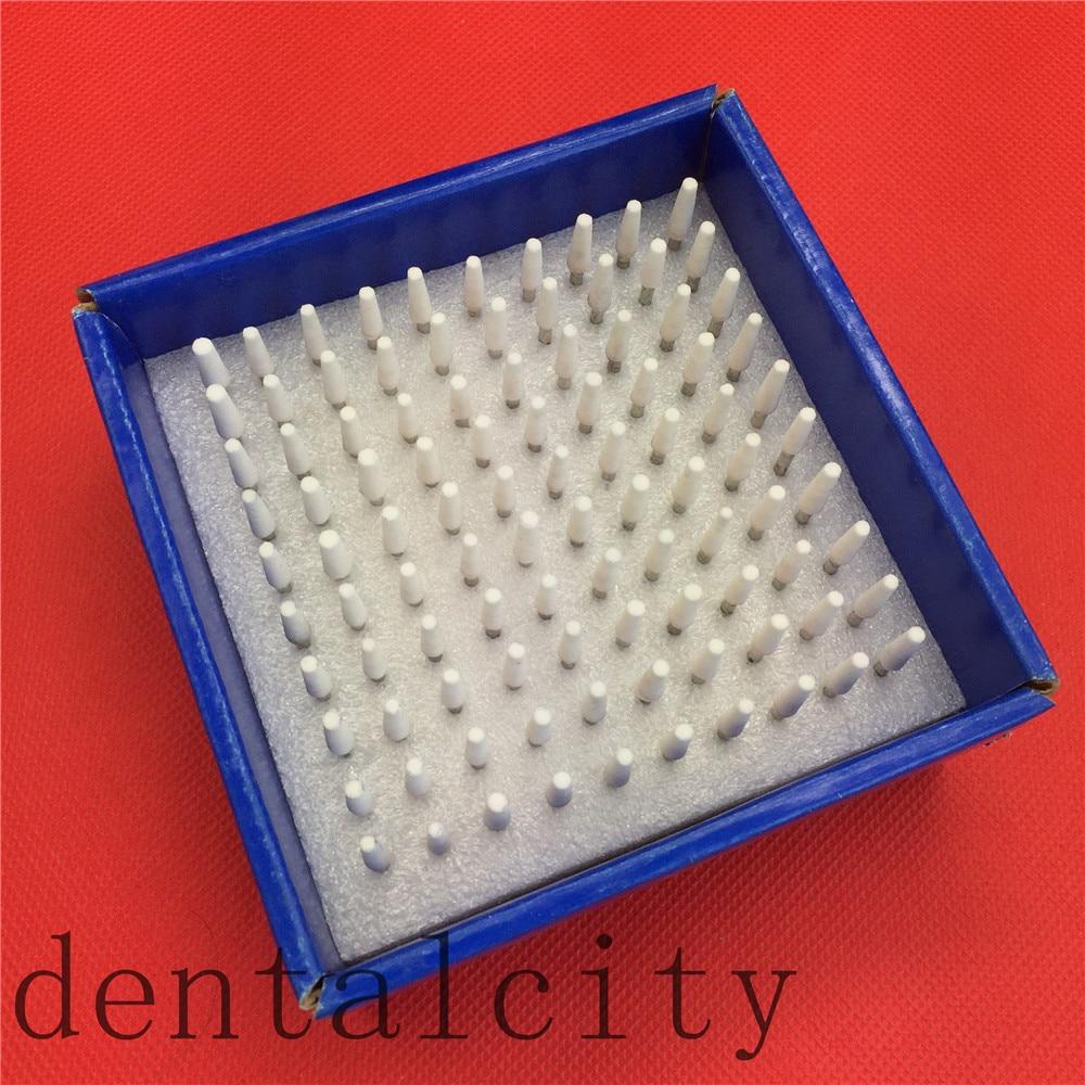 [해외]치과 재료 100pcs 날카로운 자갈 세라믹 마운트 포인트 Burs 폴리 셔 2.35mm 치과 실험 장비/Dental Materials 100pcs sharp Gravel Ceramic Mounted Point Burs Polisher 2.35mm Dental