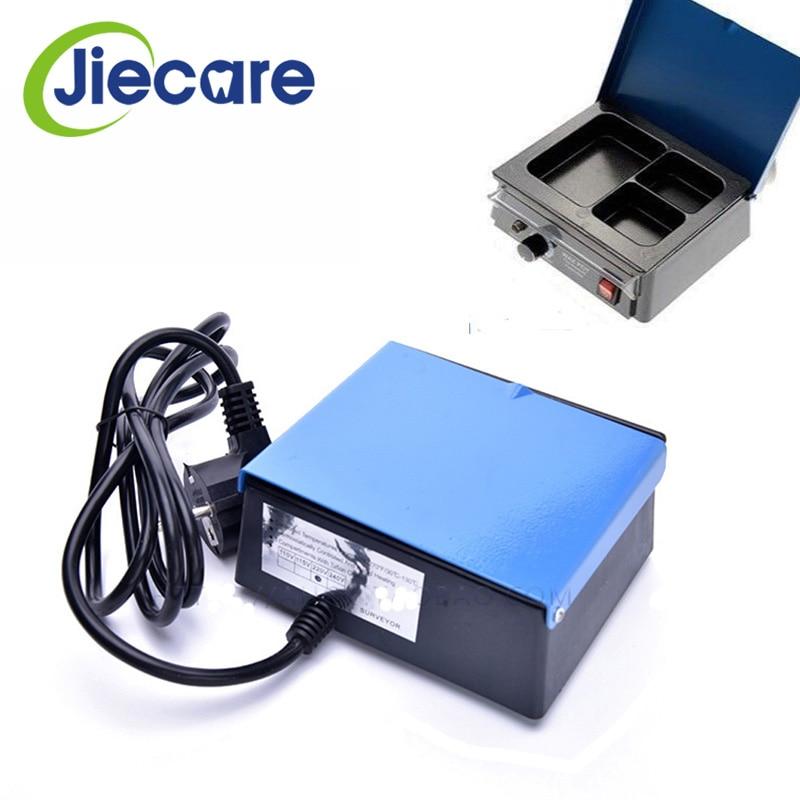 [해외]1 Pc 치과 실험실 장비 아날로그 왁스 히터 주전자 3 트라이 슬롯 파라핀 멜터 왁스 히터/1 Pc  Dental Lab Equipment Analog Wax Heater Pot 3 Tri-Slot Paraffin Melter Wax Heater