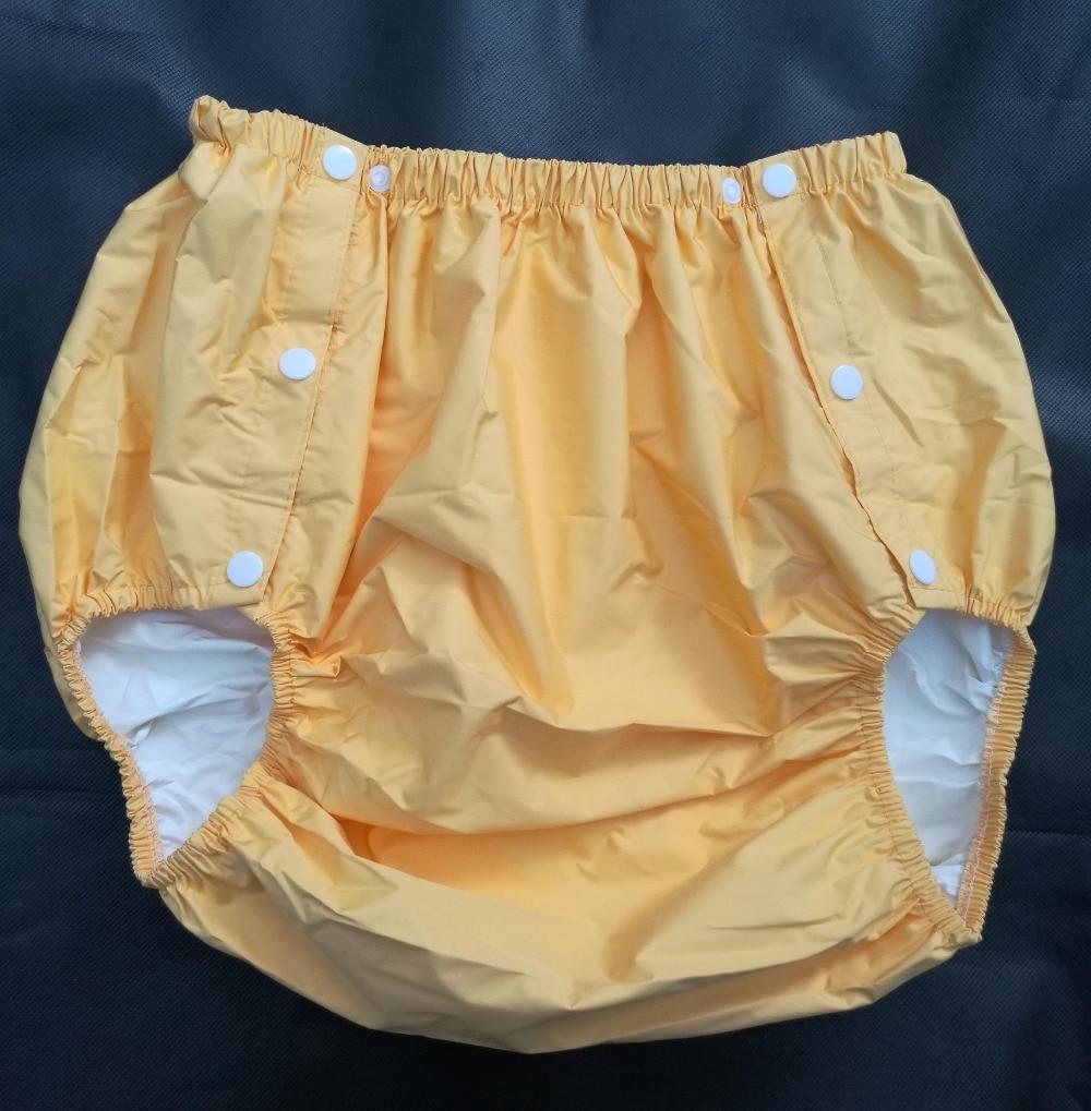 [해외]?FUUBUU2204-YELLOW-L 부분 안전 바지 / 생리 바지 / 성인용 기저귀 /  팬츠 / 포켓 기저귀/ FUUBUU2204-YELLOW-L  part Safety trousers/ Physiological pants/Adult Diaper/incont