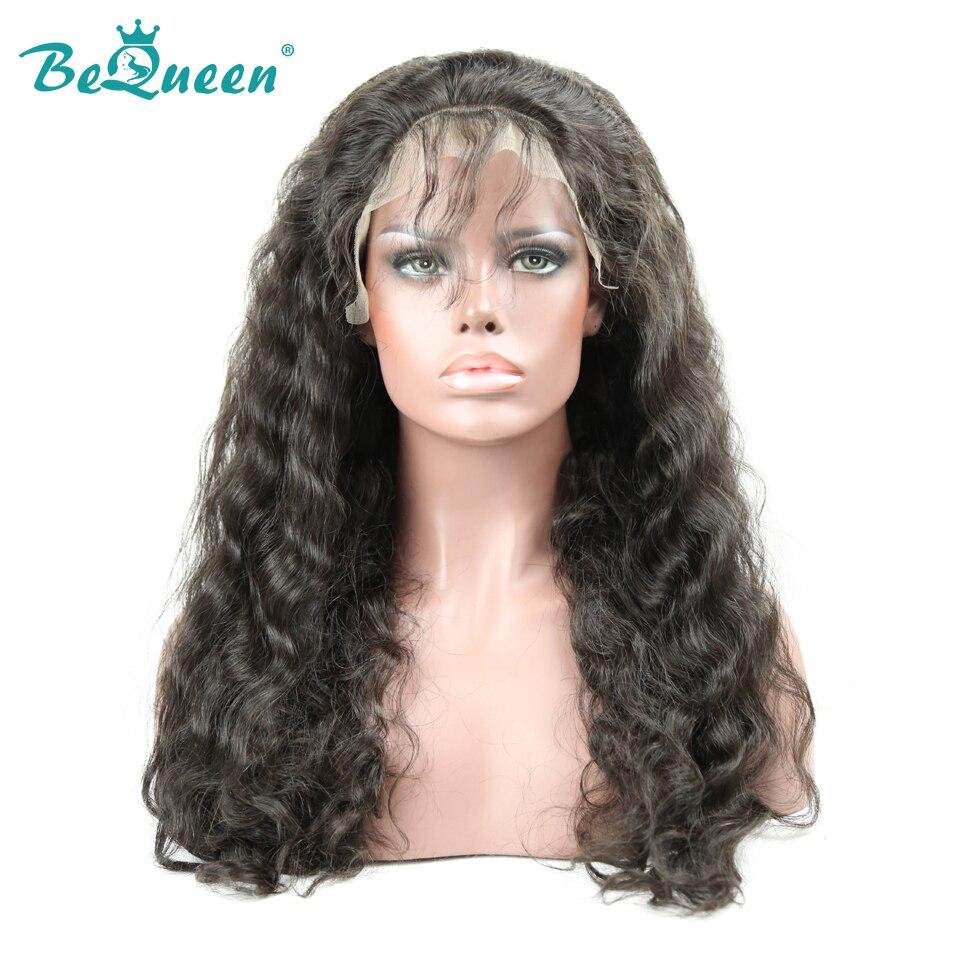[해외]BeQueen Brazilian Lace Front Wigs Natural Wave Full Lace Hair WigPre-Plucked 360 Lace Wig nature hairline 150% density/BeQueen Brazilian Lace Fron