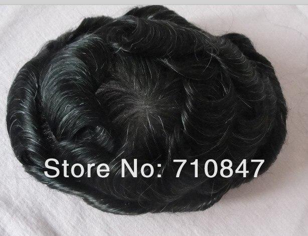 [해외]사용자 정의 만든 100% 인간의 머리 남자 toupee 무료 배송/사용자 정의 만든 100% 인간의 머리 남자 toupee 무료 배송