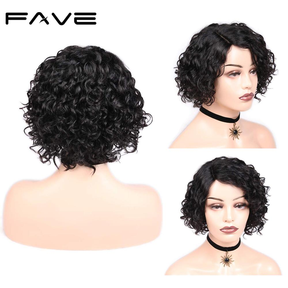 [해외]L Lace Part Curly Wig Short Afro Curly Bob Lace Wigs Brazilian Remy Human Hair Glueless for Women 1B 30 99J Color FAVE Hair/L Lace Part Curly Wig