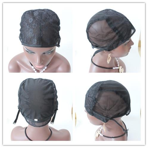 [해외]New Quality Stretch Elastic Mesh Lace Wig Caps For Making Wigs Adjustable 5 Pcs/Lot Wig Making Caps Invisible Hair Nets/New Quality Stretch Elasti
