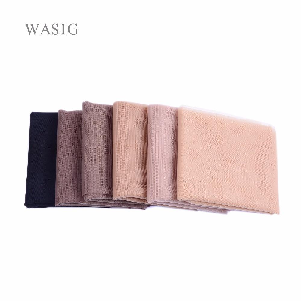 [해외]1/4 마당 스위스 레이스 그물을 만들기 레이스 가발 Foundation 헤어 액세서리는 직조 도구 Net 머리 색상을 사용할 수 있 7/1/4 Yard Swiss Lace Net For Making Lace Wig Foundation Hairnet Access