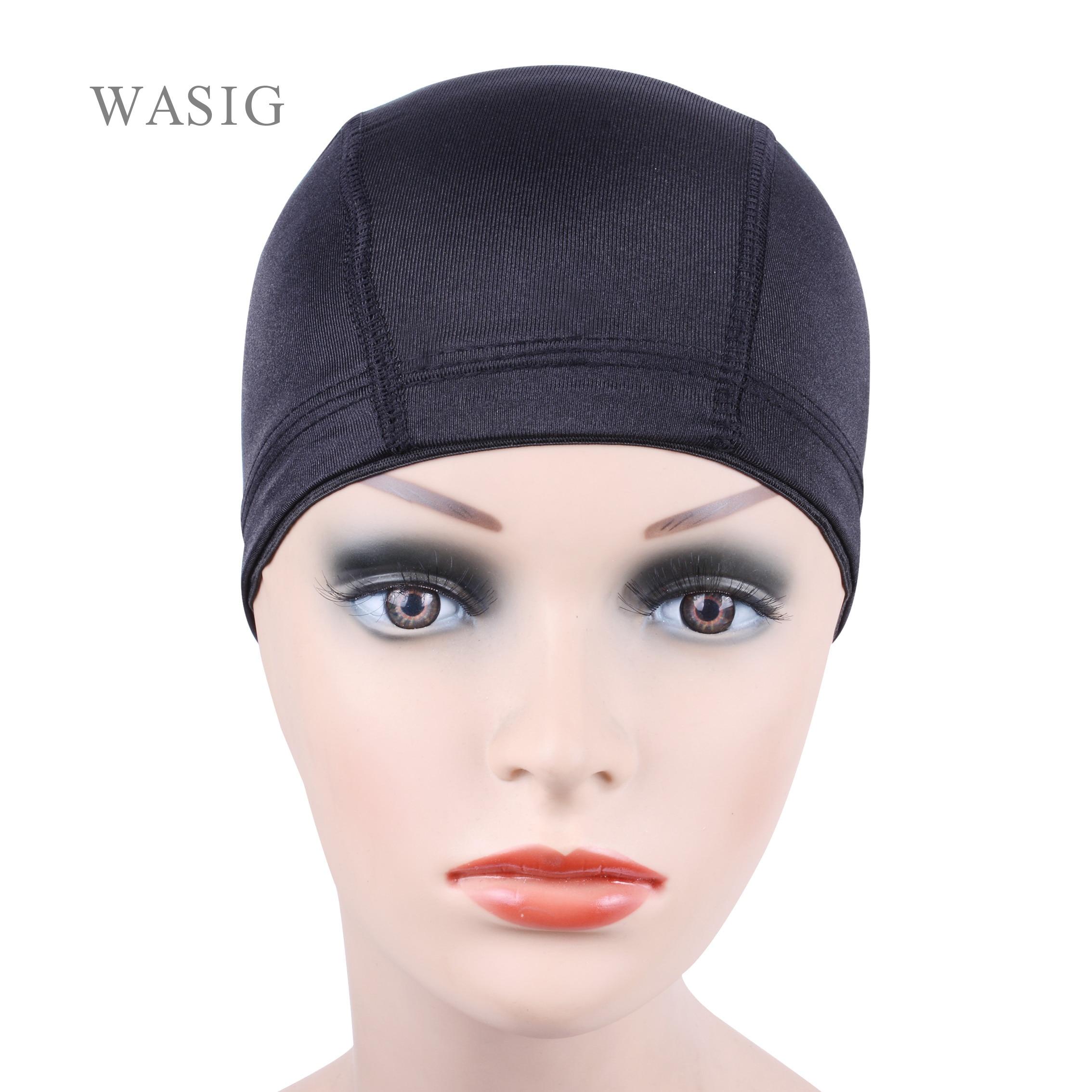 [해외]12pcs glueless hair net 가발 라이너 가발을 만들기위한 저렴한 가발 모자 spandex net elastic dome wig cap