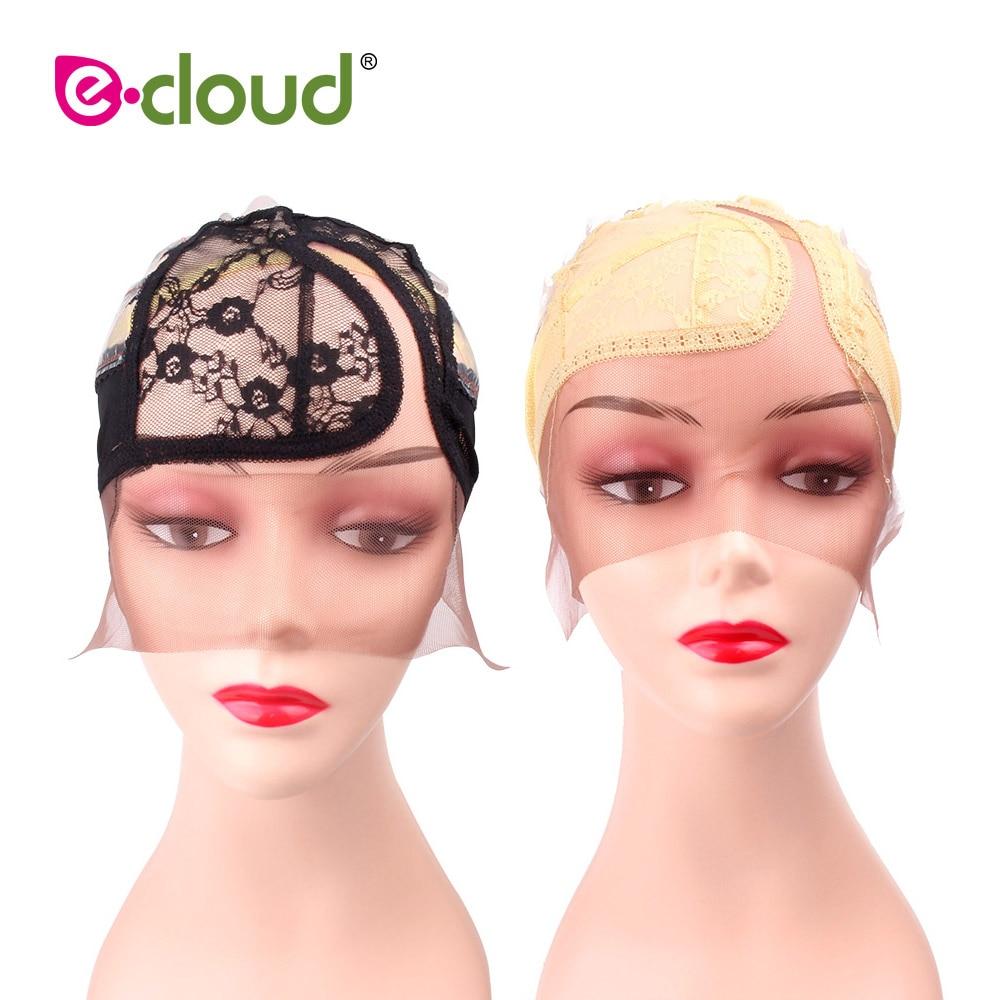 [해외]Wig Caps For Making Wigs Medium Size 21.25 inch Lace Closure Adjustable Wig Cap Black/Beige Weaving Net Dome Cap (1 Pcs M Size )/Wig Caps For Maki