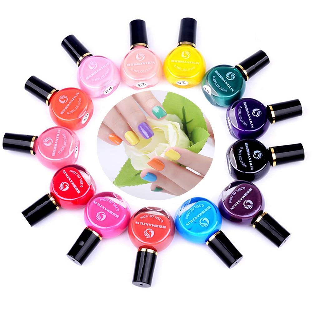 [해외]Hot 26 Colors 1 Piece Candy Color Nail Art Stamping Polish Women Beauty DIY Holograph UV Lamp Gel Nail Care Lacquer Quick-drying/Hot 26 Colors 1 P