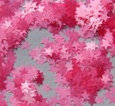 [해외]/Pink Solvent Resistant Glitter 3mm Star Matte Glitter for Nail Art and Glitter Crafts